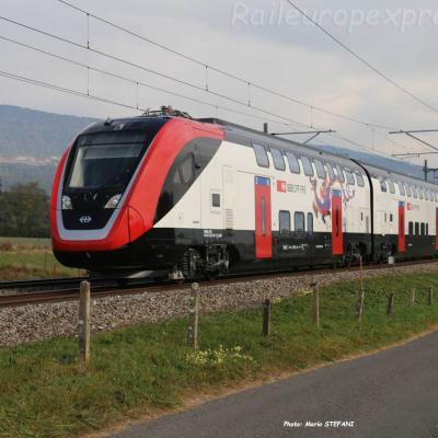 RABe 502 CFF à Boudry (CH)