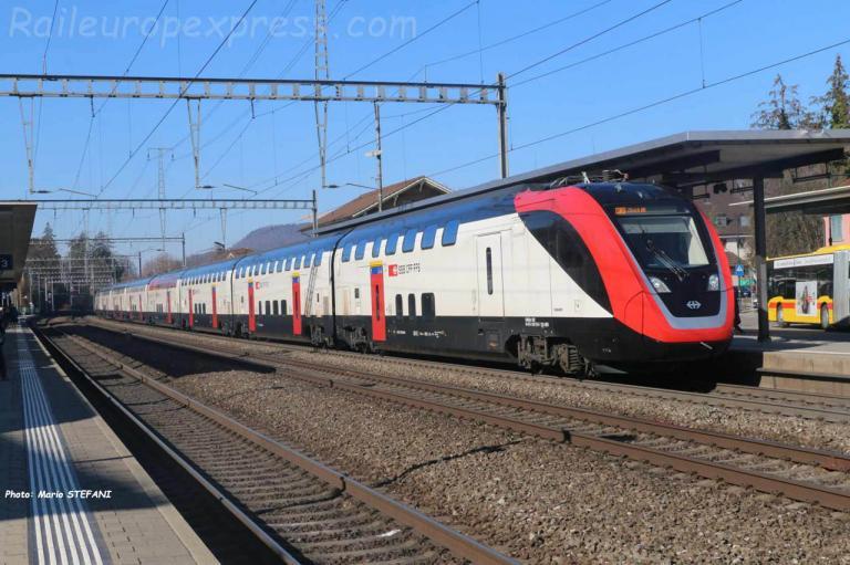 RABe 502 CFF à Sissach (CH)