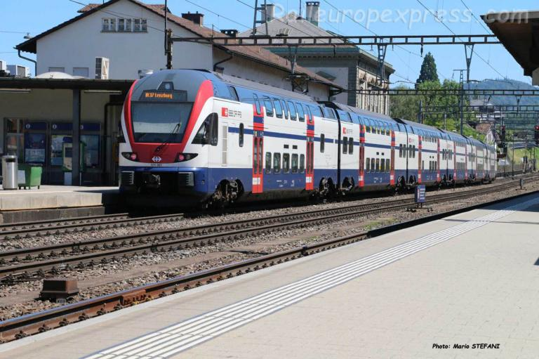RABe 511 057 CFF à Liestal (CH)