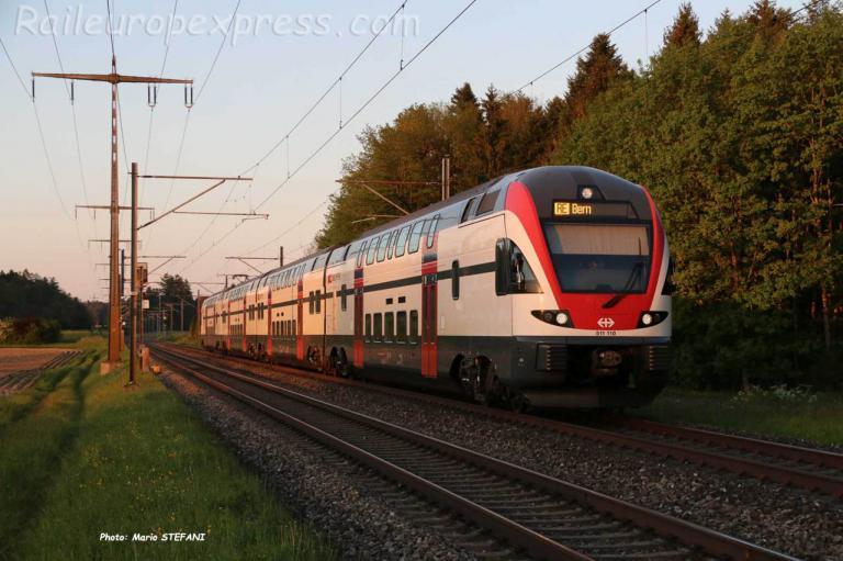 RABe 511 110 CFF à Hindelbank (CH)