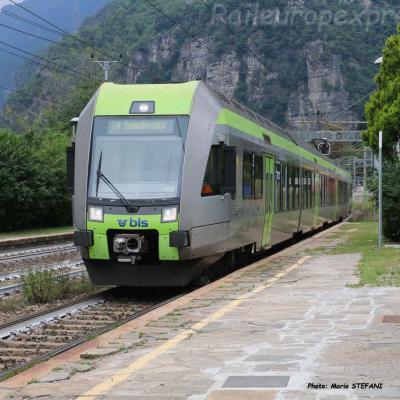 RABe 535 BLS à Varzo (I)