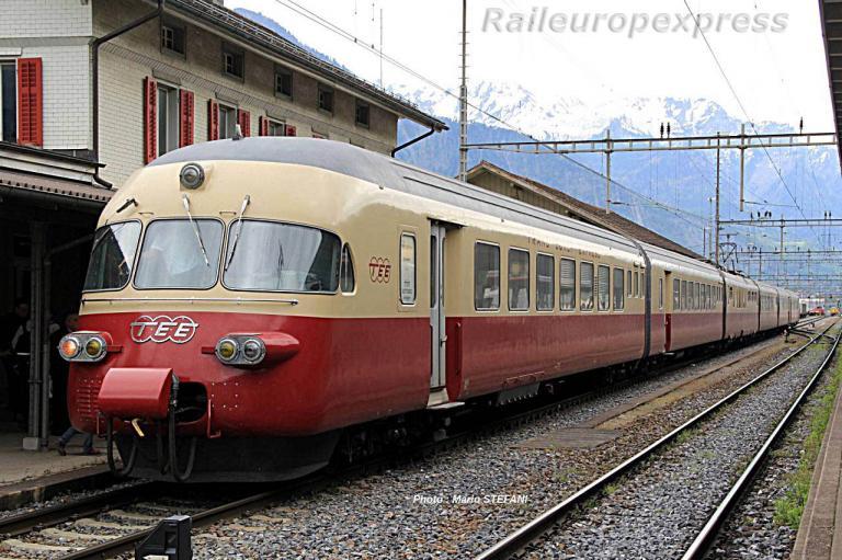 RAe 105 CFF TEE à Landquart (CH)