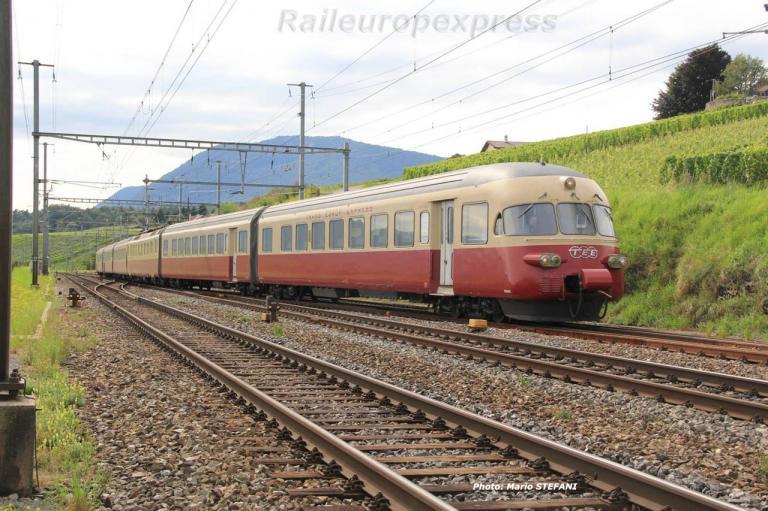RAe 1053 CFF TEE à Auvernier (CH) 2