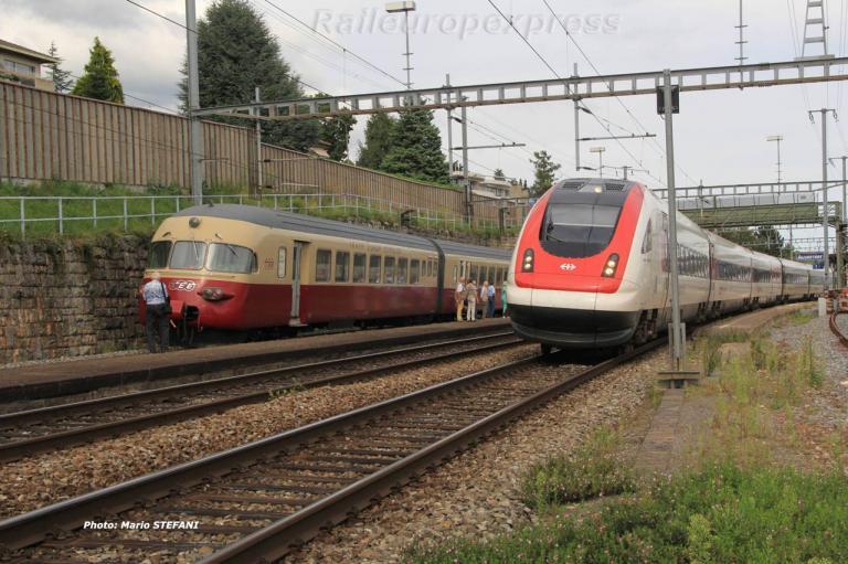 RAe 1053 CFF TEE à Auvernier (CH) 7