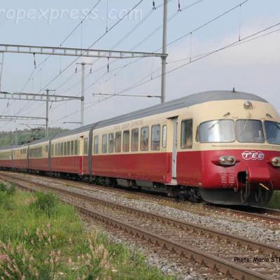 RAe 1053 CFF TEE au Mont d'or Arnex (CH)