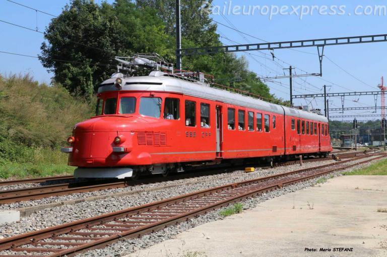 RAe 4/8 1021 CFF à Boudry (CH)