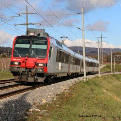 RBDe 500 CFF à Boudry (CH)
