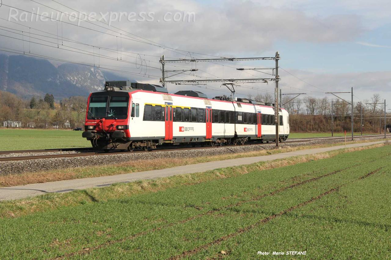 RBDe 560 CFF à Bettlach (CH)