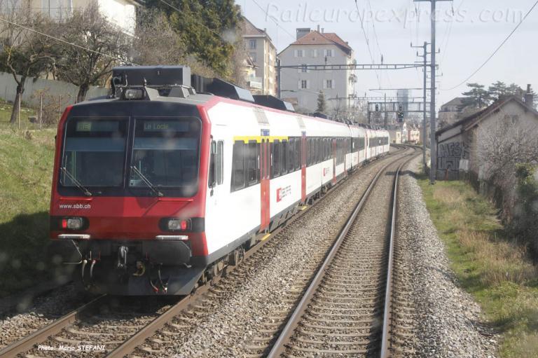 RBDe 560 CFF à Neuchâtel (CH)