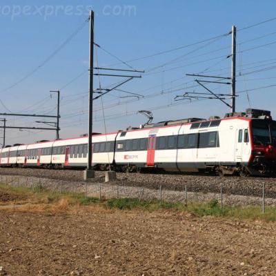 RBDe 560 CFF à Onnens (CH)