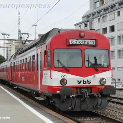 RBDe 566 221-8BLS à Thun (CH)