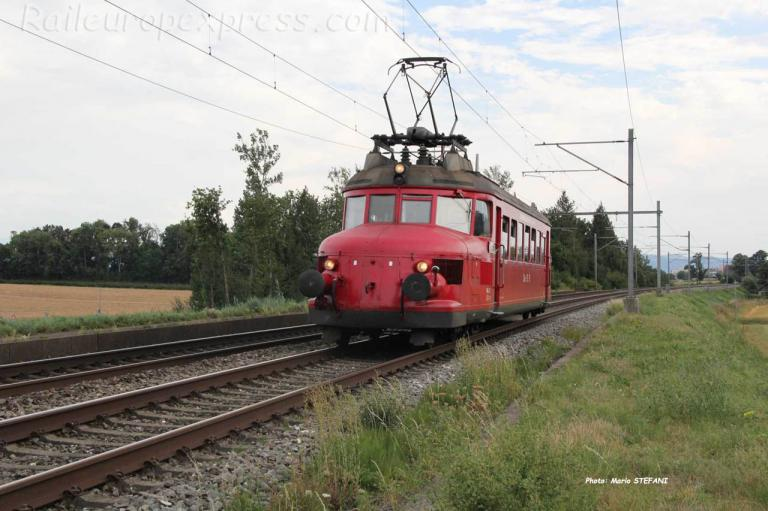 RBe 2/4 202 OeBB à Boudry (CH)