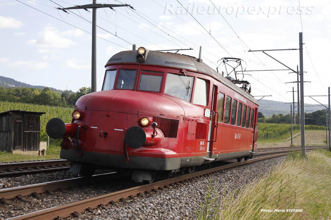 RBe 24 202 OeBB à Oensingen