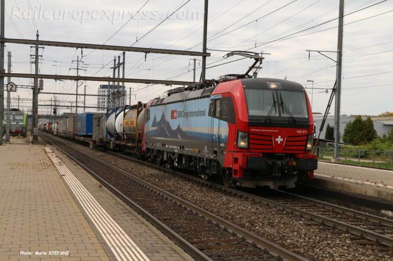 Re 193 471 CFF à Pratteln (CH)
