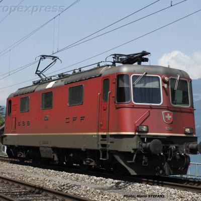 Re 4/4 II 11308 CFF à Murg (CH)