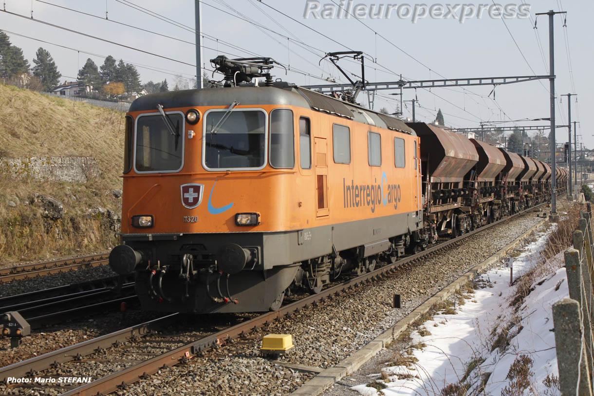 Re 4/4 II 11320 CFF à Auvernier