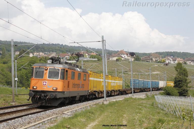 Re 4/4 II 11320 RTS CFF à Auvernier (CH)