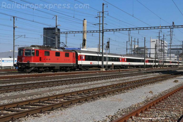 Re 420 140 CFF à Pratteln (CH)