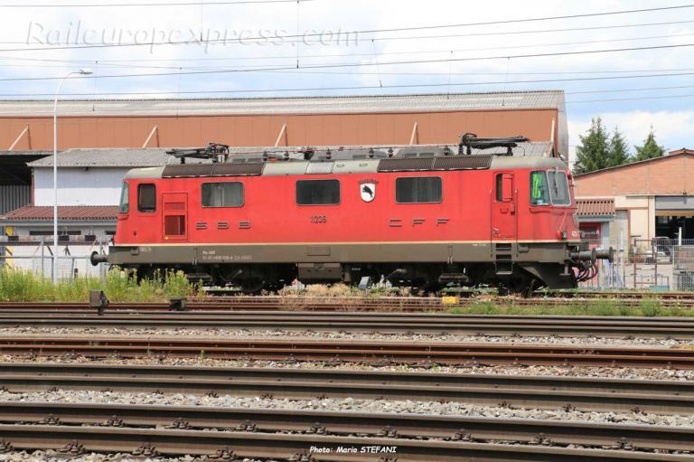 Re 420 239-6 CFF à Pratteln (CH)