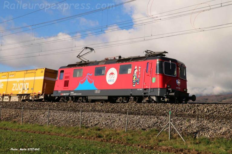 Re 420 291-1 CFF à Onnens Bonvillars (CH)