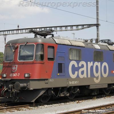 Re 420 347-7 CFF à Muttenz