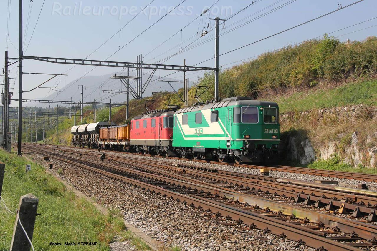 Re 420 506-8 MBC à Auvernier (CH)