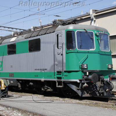 Re 420 506-8 MBC à Spiez