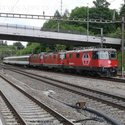 Re 420 CFF à Othmarsingen (CH)