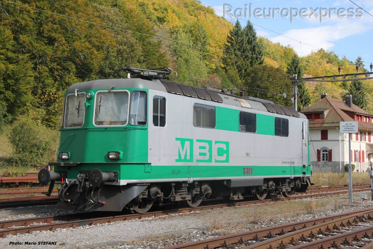 Re 420 MBC à Vallorbe (CH)