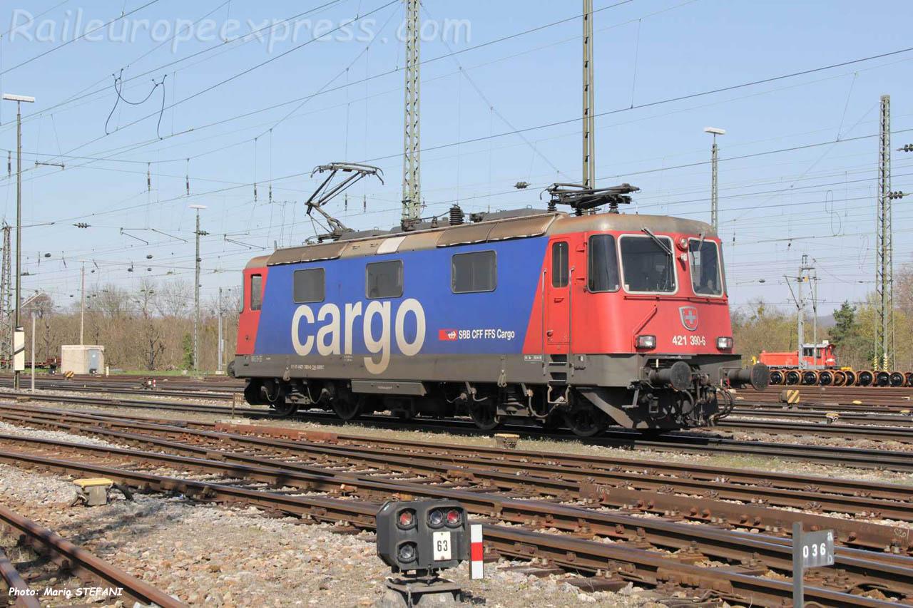 Re 421 390-6 CFF à Basel (CH)