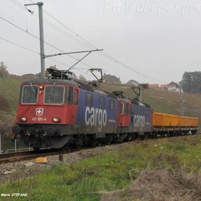 Re 421 391-4 CFF à Auvernier (CH)