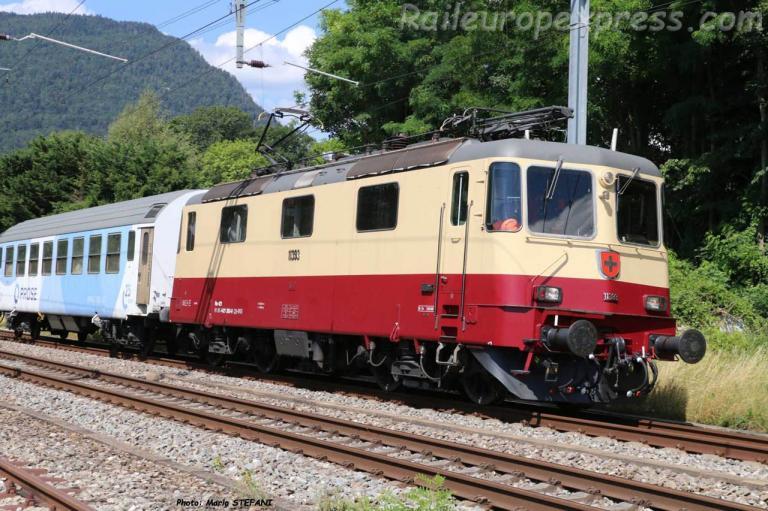 Re 421 3930 CFF à Boudry (CH)