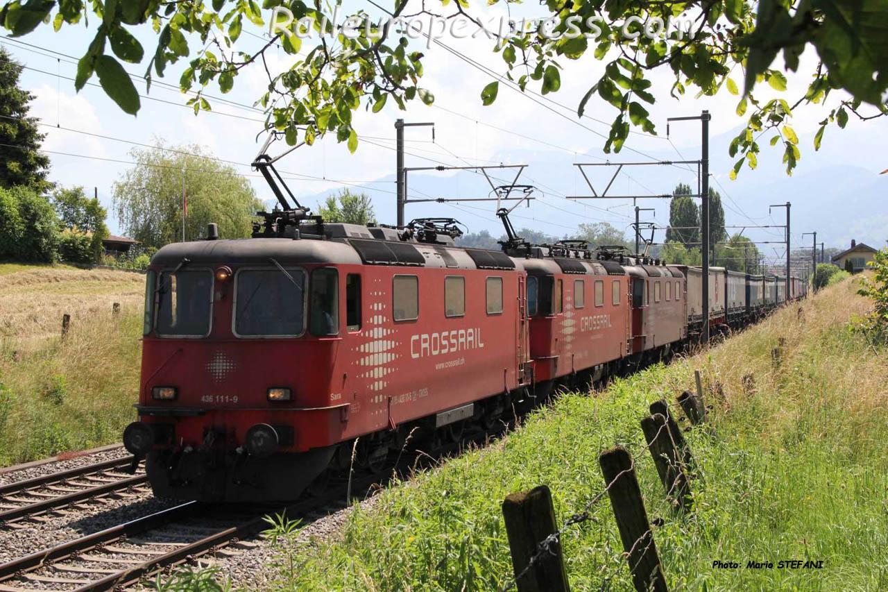 Re 430 111-5 Crossrail à Kumm (CH)