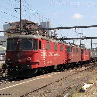 Re 430 114-3 Crossrail à Pratteln (CH)