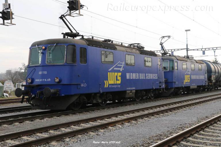 Re 430 115 WRSCH à Basel (CH)