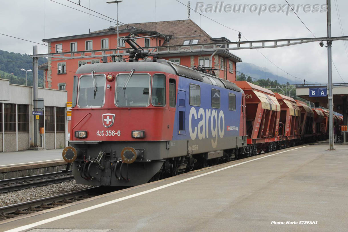 Re 430 356-6 CFF à Arth Goldau