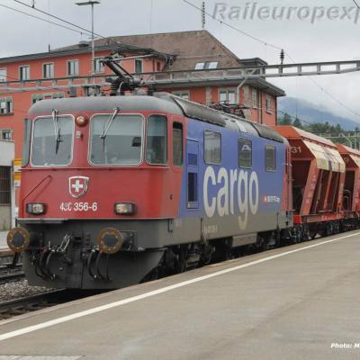 Re 430 356-6 CFF à Arth Goldau