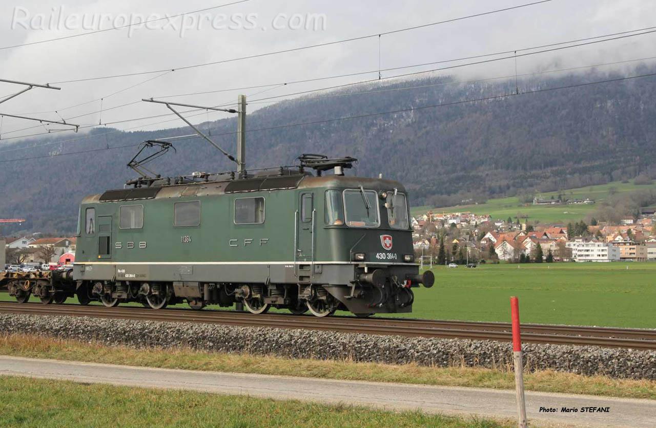 Re 430 364-0 CFF à Bettlach (CH)
