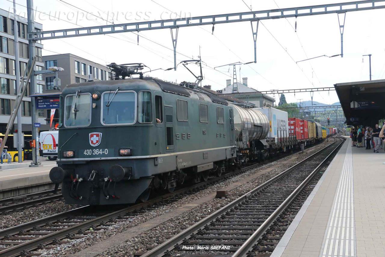 Re 430 364-0 CFF à Liestal (CH)