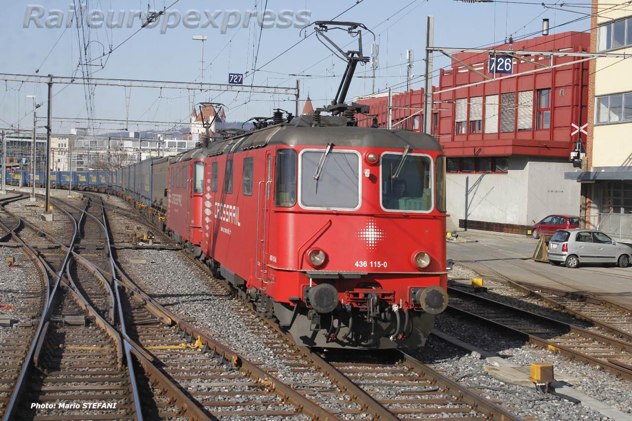Re 436 115-0 Crossrail à Thun