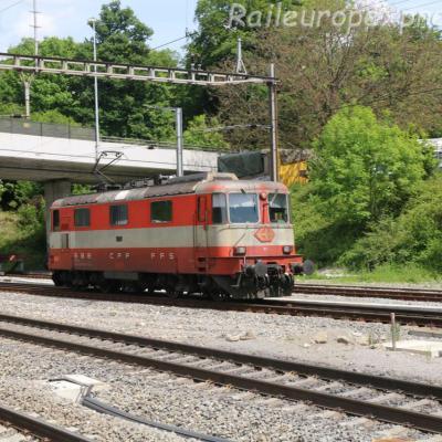 Re 44 11109 CFF à Othmarsingen (CH)