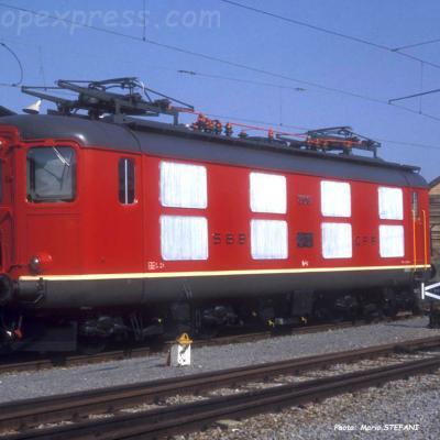 Re 4/4 I 10001 CFF à Yverdon (CH)