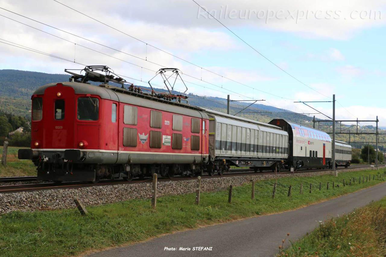 Re 4/4 I 10009 CFF à Boudry (CH)