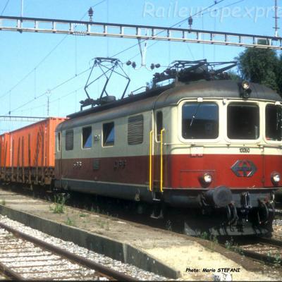 Re 4/4 I 10050 CFF à Onnens (CH)