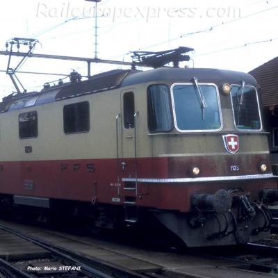 Re 4/4 II 11250 CFF à Thun (CH)