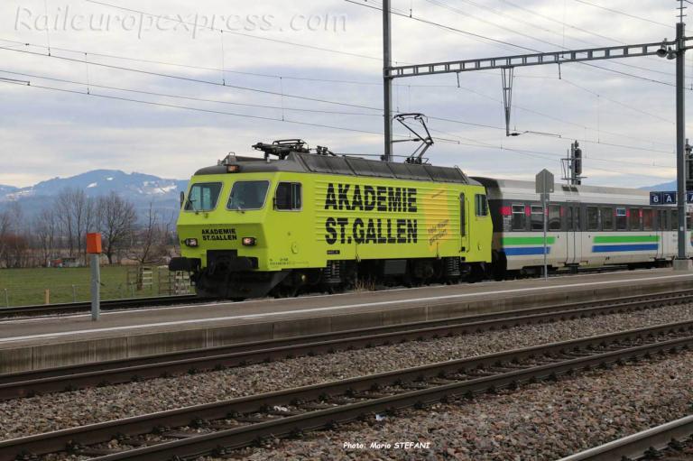 Re 445 SOB à Pfaffikon (CH)