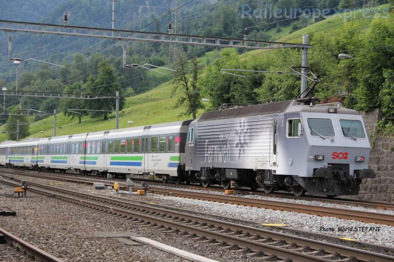 Re 446 017 SOB à Immensee (CH)