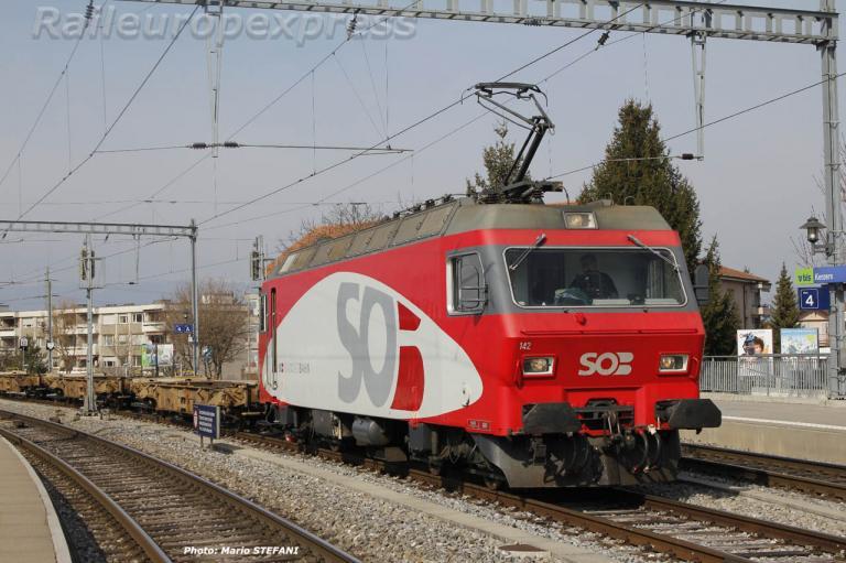 Re 456 142-9 SOB à Kerzers