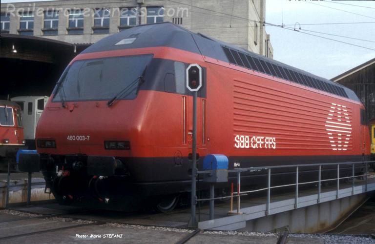 Re 460 003-7 CFF 0 Yverdon (CH)