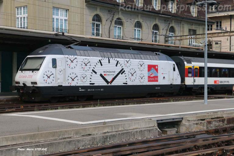 Re 460 044-1 CFF à Lausanne (CH)